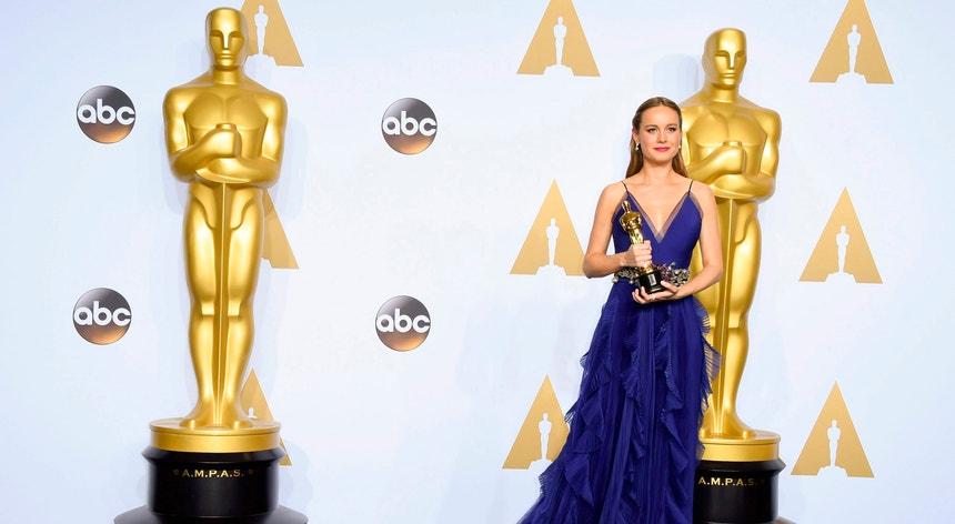 Brie Larson estreou-se ao ganhar pela primeira verz o prémio de melhor atriz