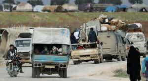 Síria. Bombardeamentos incessantes do regime provocam êxodo em massa