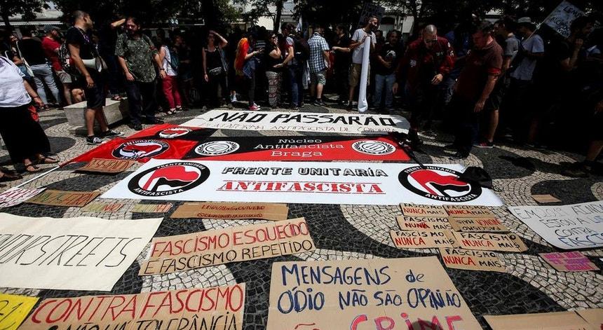 A indignação pela morte de George Floyd chega a Lisboa