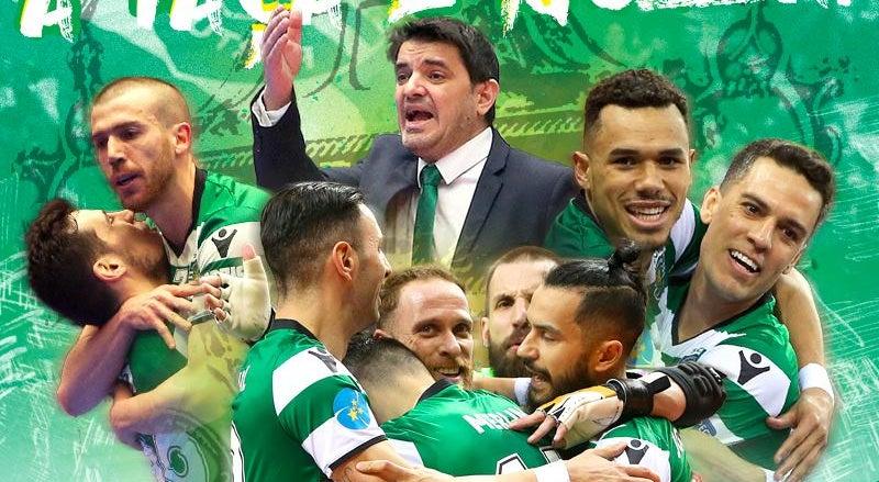331b8d28a7 Sporting bate Fabril e conquista sexta Taça de Portugal em futsal ...