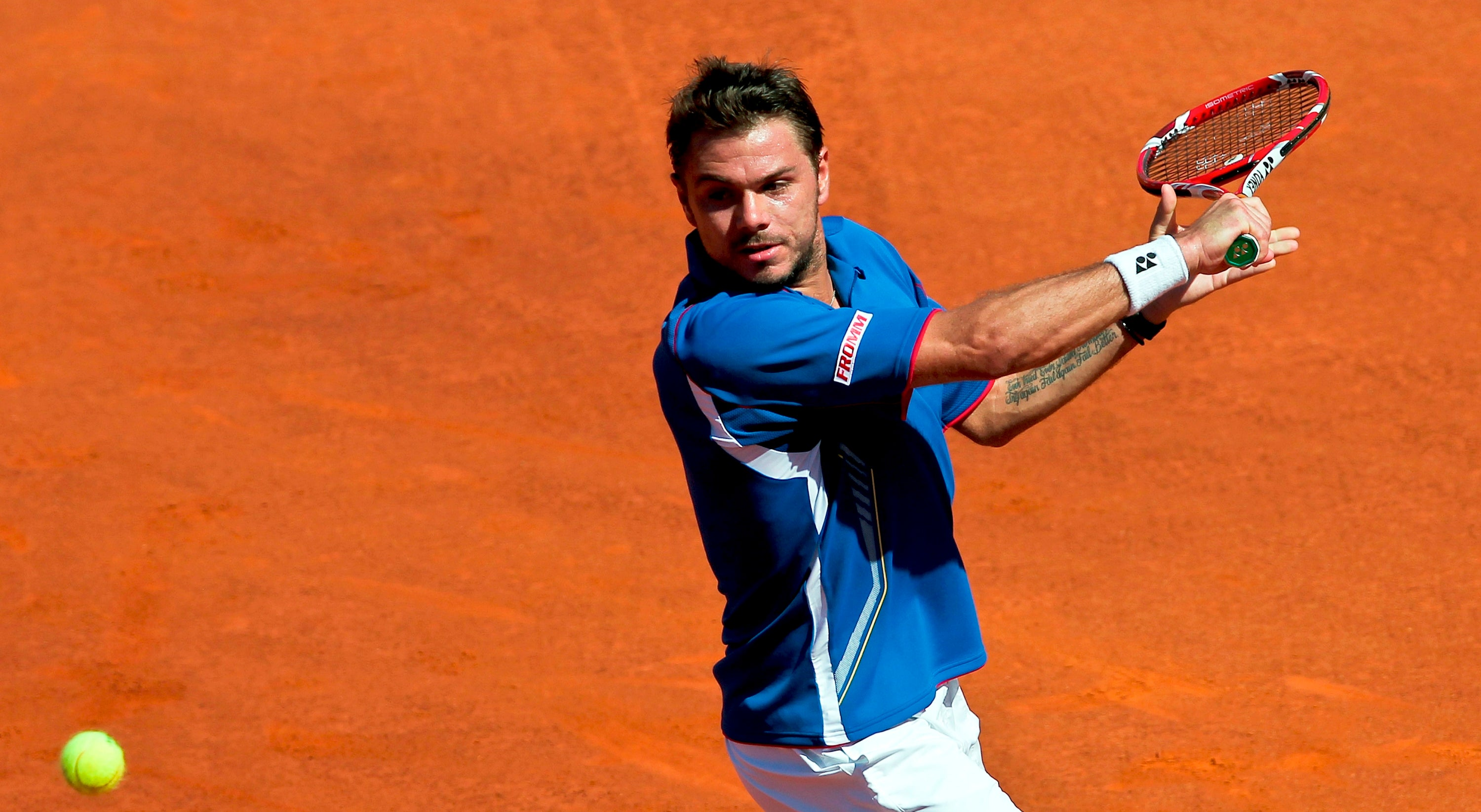 Wawrinka está nas meias do torneio de Indian Wells