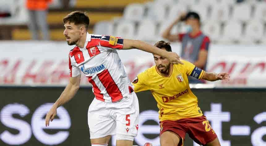 Estrela Vermelha - SC Braga, Liga Europa em direto