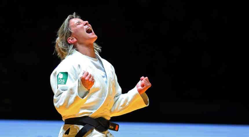 Europeus de Judo. Telma Monteiro é campeã da Europa pela sexta vez