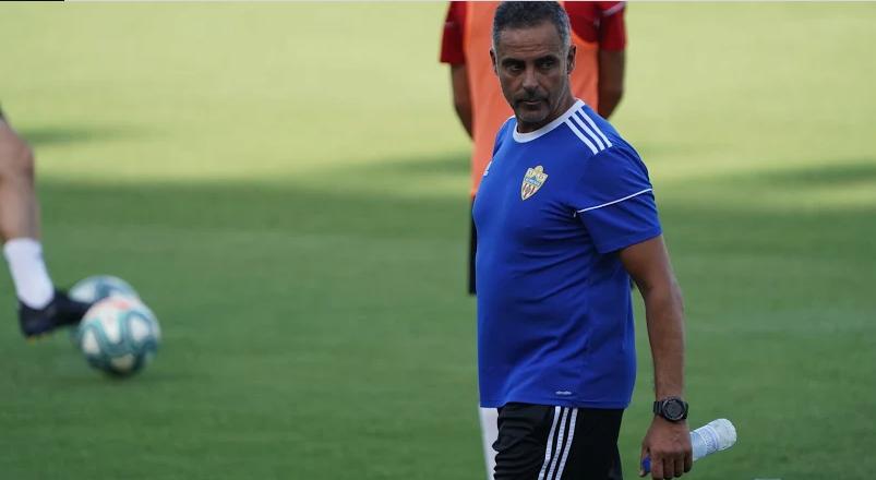 O treinador português vive dias felizes no comando do Almería