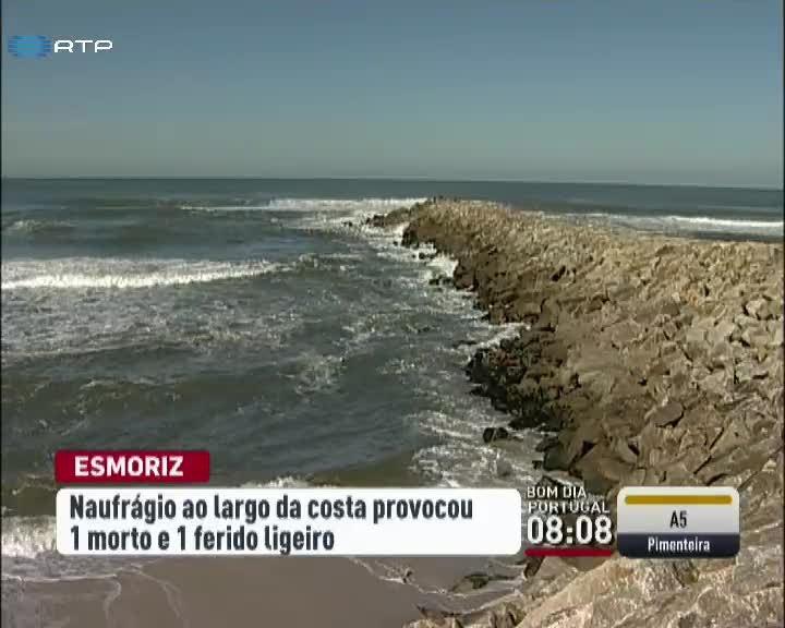 Resultado de imagem para Pescador morreu em naufrágio de embarcação ao largo de Esmoriz
