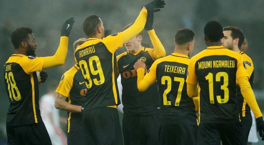 "O Young Boys chegou ao ""tri"" no campeonato suíço"