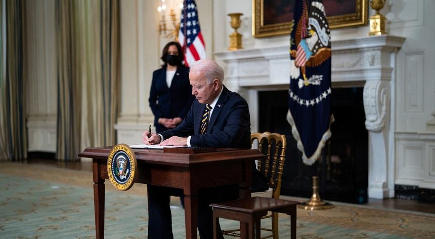 Esta foi a primeira ação militar após a eleição de Joe Biden