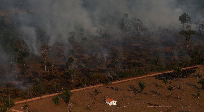 Incêndios na Amazónia, 29 de agosto de 2019 /Ricardo Moraes - Reuters