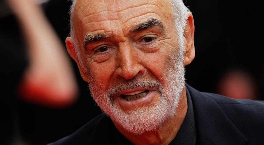 Sean Connery tinha 90 anos