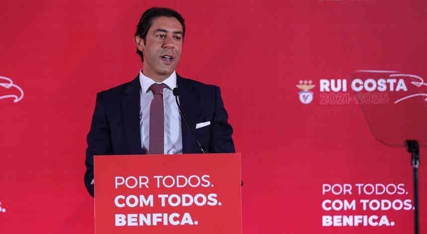 Rui Costa é candidato à presidência do Benfica