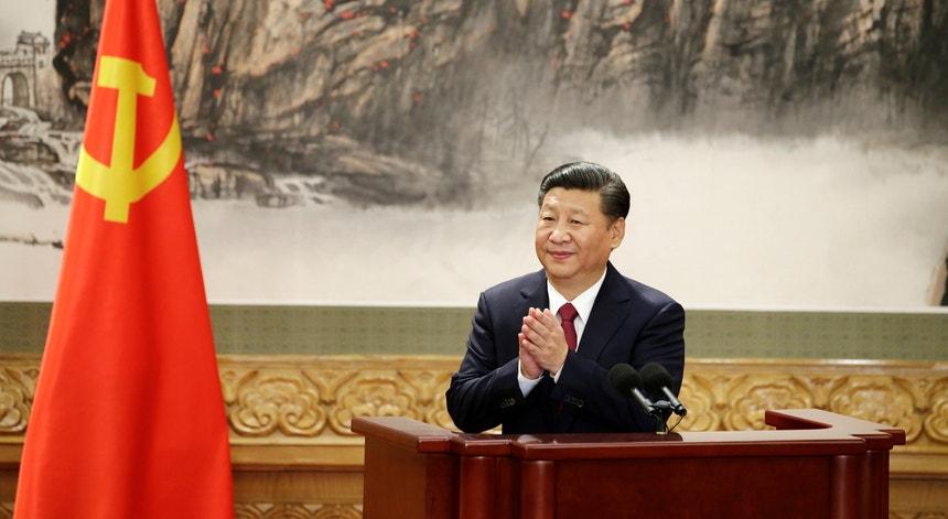 O Presidente chinês vai estar em Lisboa até esta quarta-feira