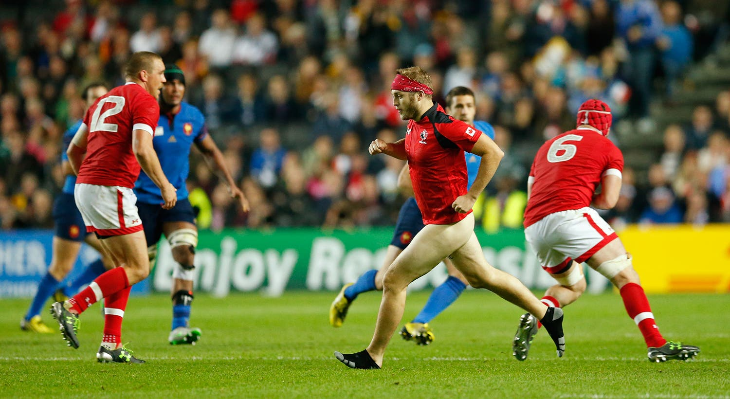 No Mundial de Rugby 2015 /Andrew Boyers - Action Images via Reuters