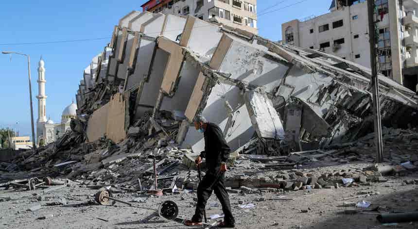 Territórios Israel-Palestinianos. Ferida continuamente aberta