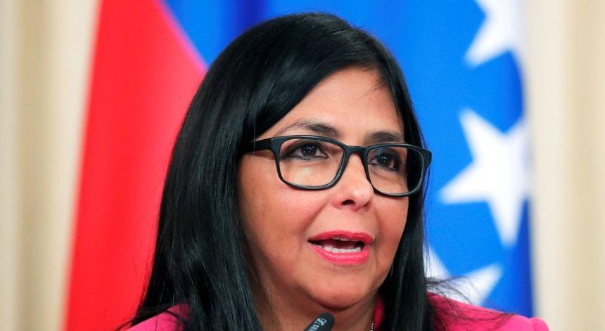 Delcy Rodriguez questionou a credibilidade do Banco de Inglaterra