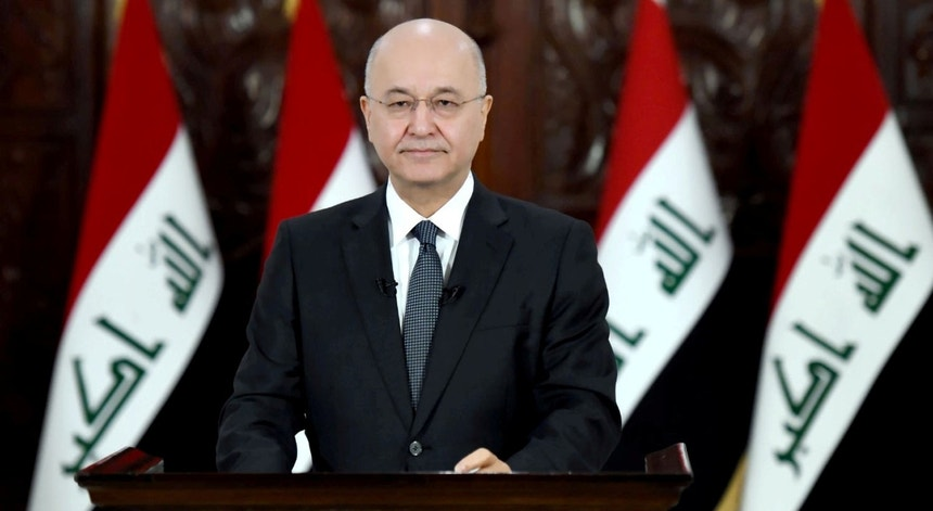 Barham Salih, presidente iraquiano, recusa que Iraque seja um campo de batalha.