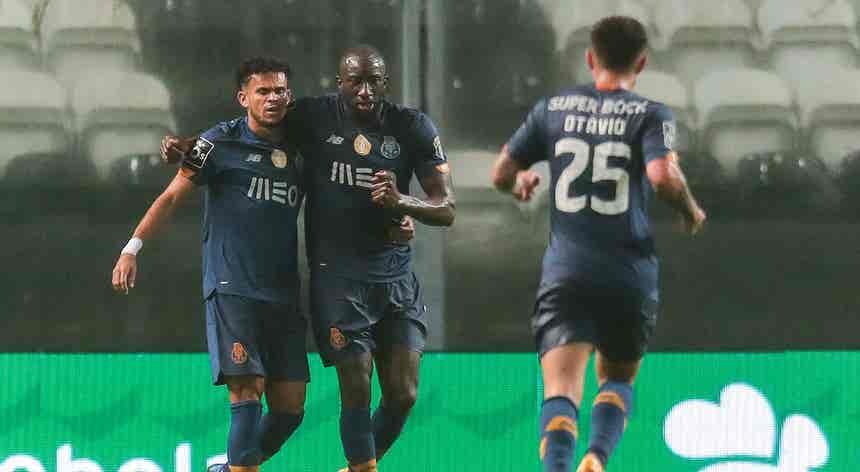 Cinco golos na segunda parte ditam goleada do FC Porto