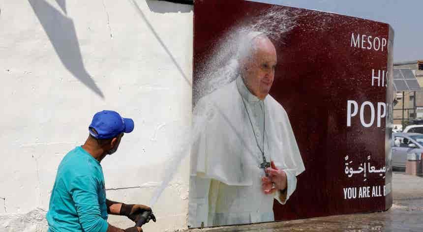 Preparativos. Papa Francisco visita Iraque