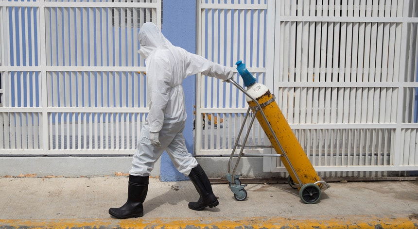 A doença provocada pelo novo coronavírus agravou-se nos últimos dias no Peru