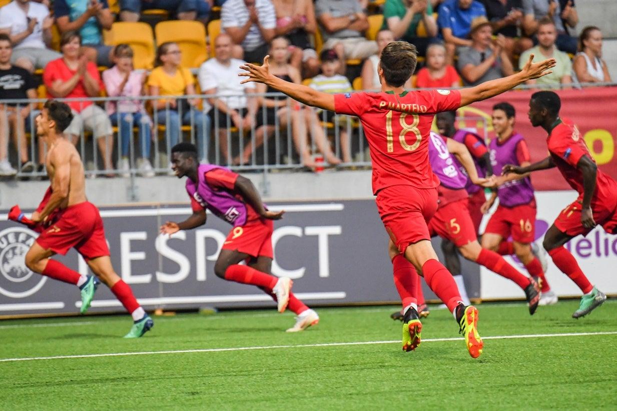 Portugal Campeao Europeu De Sub  Em Futebol
