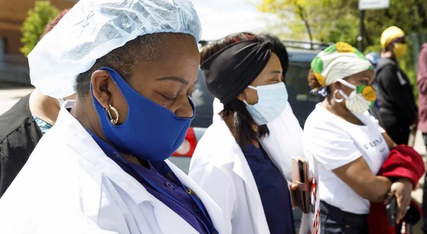Nos Estados Unidos todos os cuidados são poucos para tentar vencer o novo coronavírus