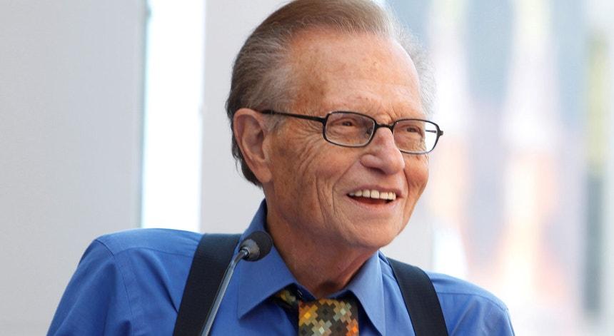 Larry King em 2010