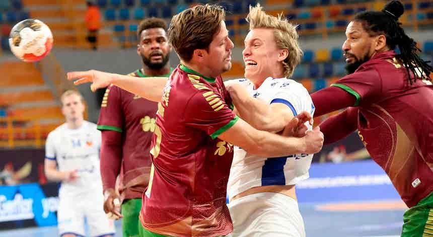 França, Noruega e Suíça defrontam Portugal na ronda principal
