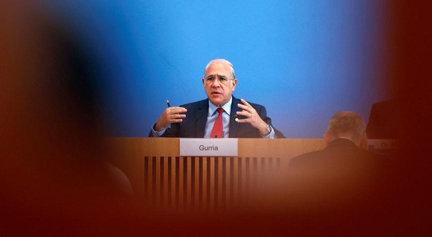 O secretário-geral da OCDE, Angel Gurría