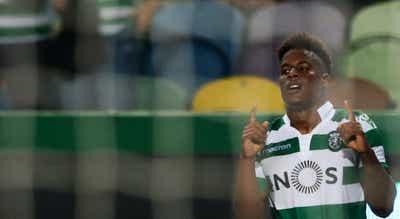 Jovane Cabral volta aos treinos do Sporting sem limitações