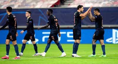 Manchester City bate Olympiacos e apura-se para os oitavos da Champions
