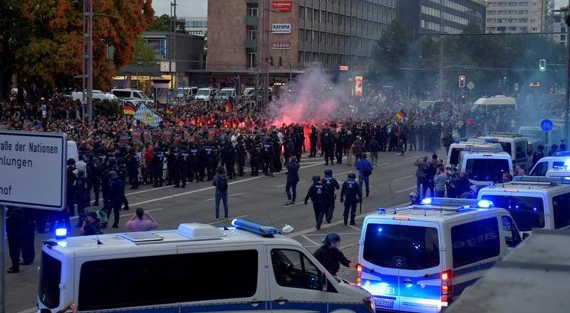 O que ocorreu em Chemnitz?