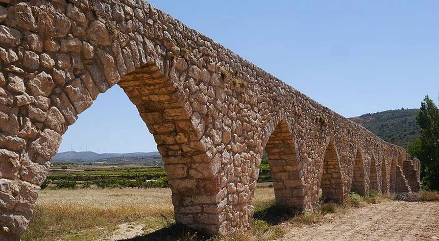 Aqueduto romano, na região de Valencia