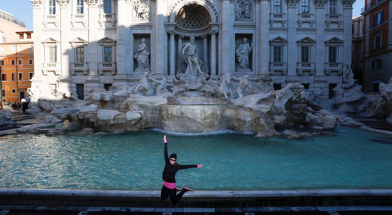 Fontana di Trevi um dos conhecidos pontos turísticos de Roma /Guglielmo Mangiapane - Reuters