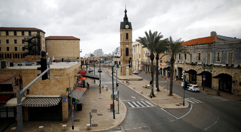 A Torre do Relógio-Jaffa em Tel Aviv, Israel / Corinna Kern - Reuters