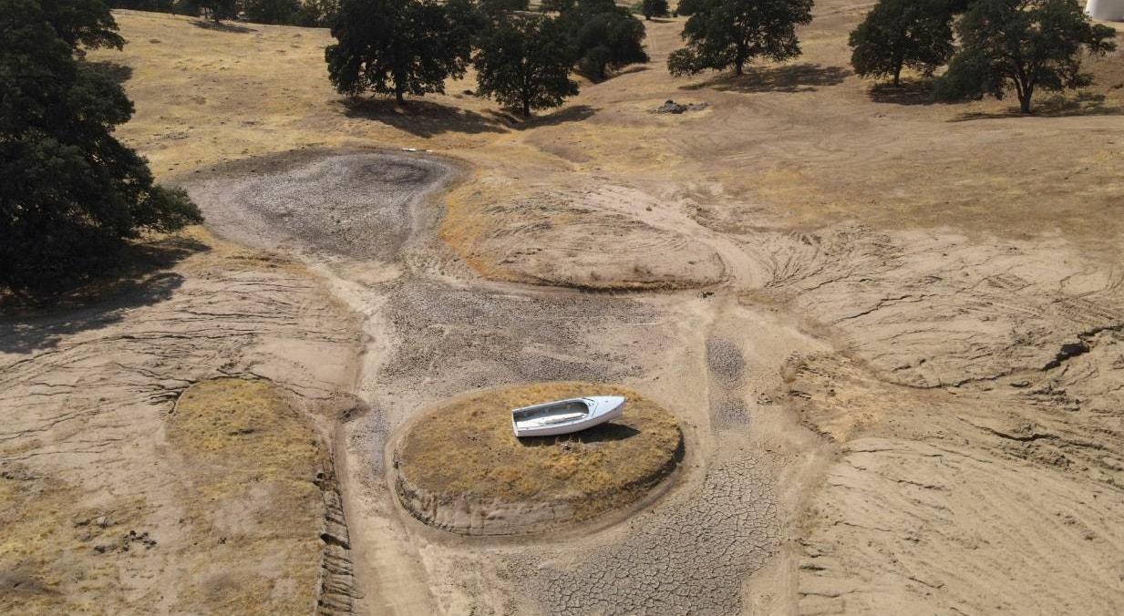 EUA. California, Hensley Lake | David Swanson - Reuters