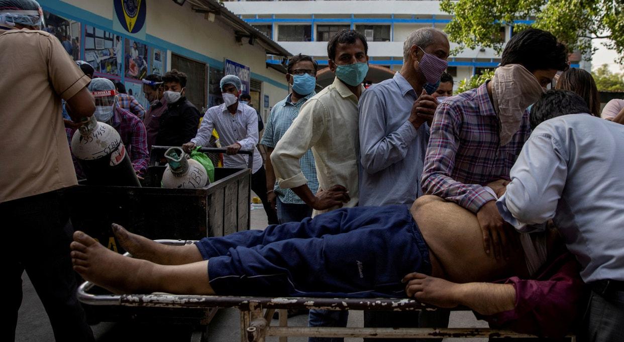 Nova Deli. Hospital Guru Teg Bahadur | Danish Siddiqui - Reuters