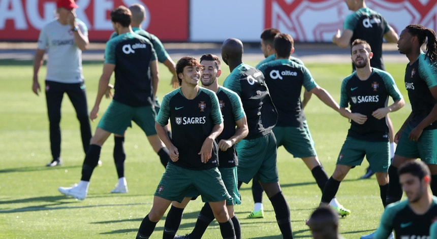 A seleção afina a estratégia para o jogo com o Luxemburgo