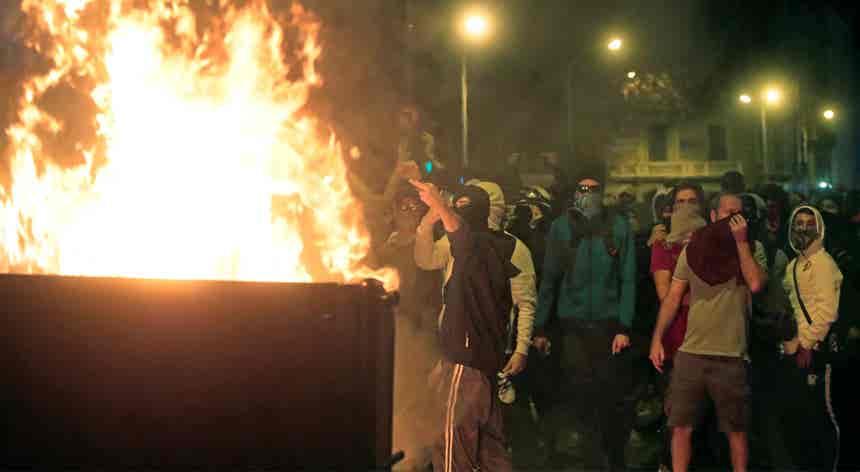 Ações violentas em Barcelona perderam dimensão