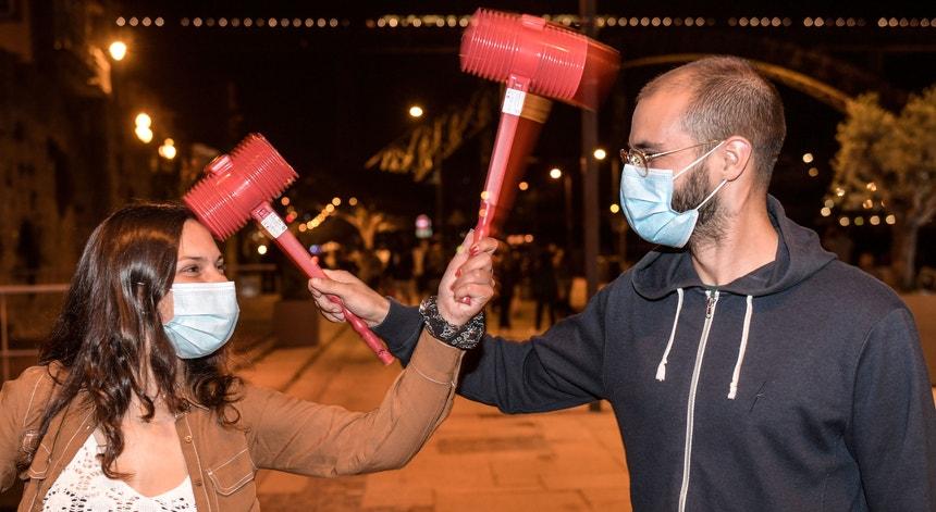 A polícia atuou na cidade do Porto de uma forma preventiva e o São João foi contido