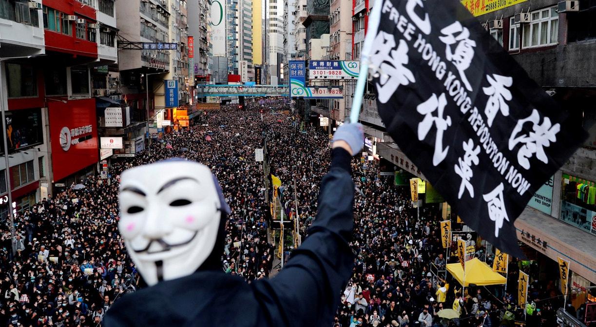 Hong Kong. Marcha pela luta dos Direitos Humanos | Danish Siddiqui - Reuters