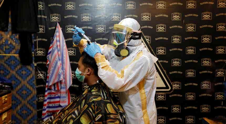 Barbearia na Indonésia