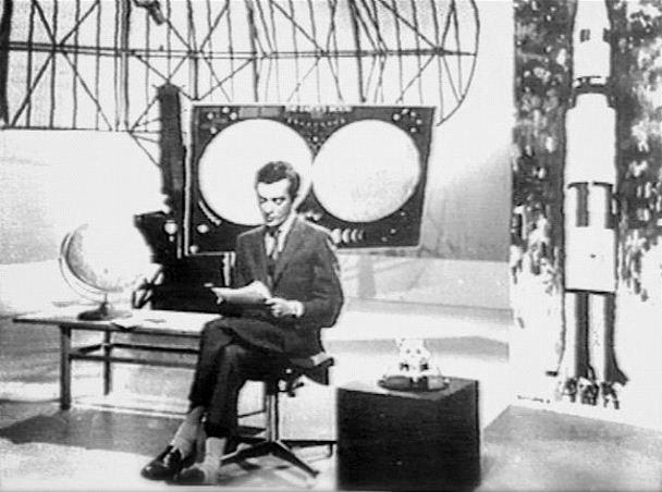 O Jornalista José mensurado conduzio a emissão na RTp no dia 21 de julho de 1969
