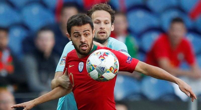 Resultado de imagem para Liga das Nações: Bernardo Silva vence prémio de melhor jogador do torneio