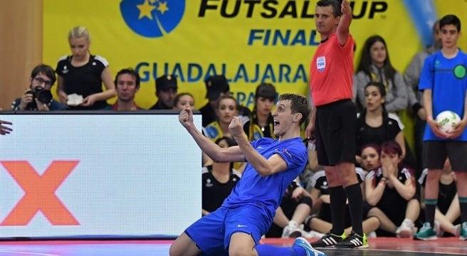 Estreante Ugra Yugorsk campeão da UEFA Futsal Cup ao bater o Inter - RTP