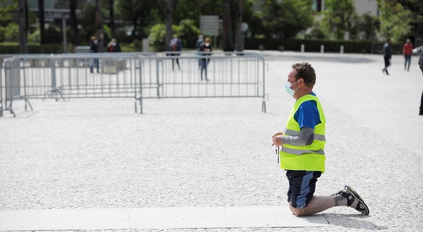 A peregrinação de maio em Fátima terá um máximo de 7.500 pessoas