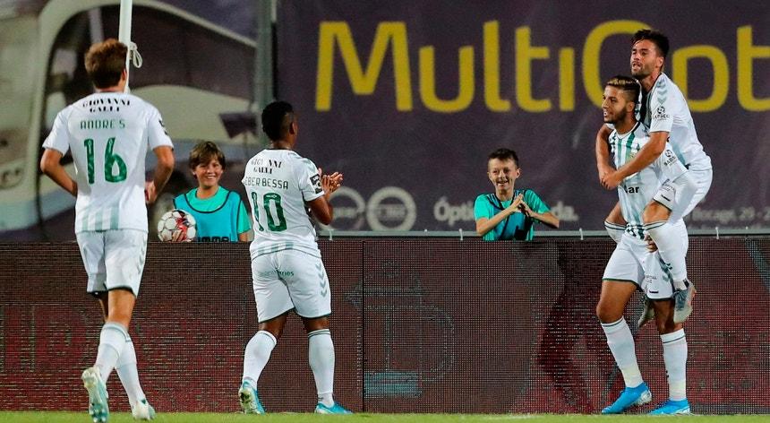 Khalid Hachadi marcou para o Setúbal