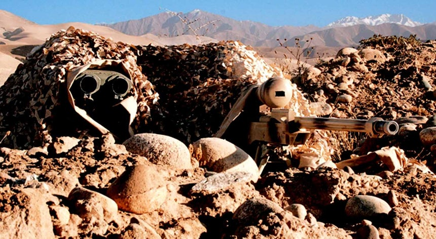 Tiro recorde de sniper canadiano mata elemento do Daesh