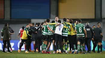 Taça da Liga. Sporting assume-se como `vice-rei` no oitavo `caneco` de Amorim