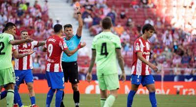 João Félix suspenso por dois jogos na Liga espanhola após expulsão