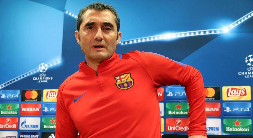 Treinador do FC Barcelona espera Sporting