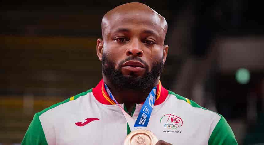 Tóquio2020. Jorge Fonseca ganhou o bronze na categoria de -100kg em judo